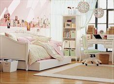 Vintage cute diy cheap bedroom teen bedroom