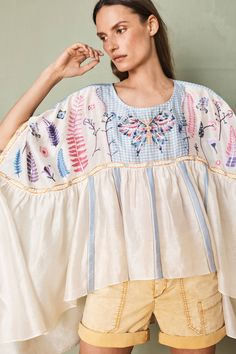 Shop the Mariposa Embroidered Top and more Anthropologie at Anthropologie today. Read customer reviews, discover product details and more.