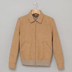 APC Wool Moto Jacket