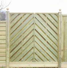 Chevron Hit and Miss Fence Panel from Jacksons Fencing; garden fencing manufacturers and contractors supplying fencing, fence panels and garden gates Garden Fence Panels, Garden Privacy, Outdoor Rooms, Outdoor Gardens, Outdoor Ideas, Outdoor Living, Wood Fence Gates, Fences, Outdoor Wood Furniture