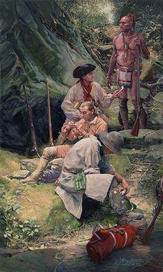 Congenial Alliance | John Buxton Historical Art  kK