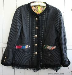 like the French Jacket That Must Not Be Named, but in a casual style... how brilliant!