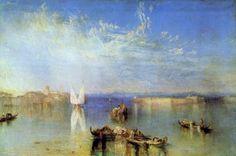 Turner, Joseph Mallord William: Campo Santo, Venedig (Campo Santo, Venice)