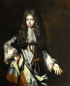 The Honourable Edward Hales (1670-1690), eldest son of Sir Edward Hales, 3rd Bt. of Tunstall & Hackington, Earl of Tenterden, killed at the Battle of the Boyne.