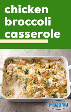 Chicken Broccoli Casserole – We've got your dinner table covered! This cheesy, cracker-topped chicken bake is a delicious addition for busy weeknights thanks to the 15 minute prep time and small list of ingredients you probably already have in your New Recipes, Crockpot Recipes, Chicken Recipes, Dinner Recipes, Cooking Recipes, Healthy Recipes, Giada Cooking, Cooking Beef, Cooking Fish