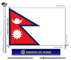 BANDERA NEPAL - Banderas del Mundo   Banderas y Mástiles ...