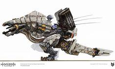 Horizon Zero Dawn Concept Art - Thunderjaw