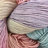 Araucania Runca 100% sugar cane yarn! This is the color way I used to make my nieces baby blanket <3