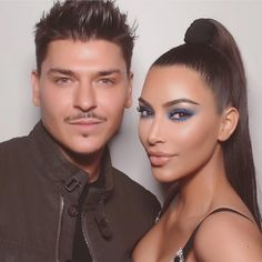 We did it!!! Thank you @makeupbymario for working so hard on our KKW X MARIO @kkwbeauty collab Im so proud of this collection! We still have some palettes left for anyone who wants this amazing collection ! KKWBEAUTY.COM