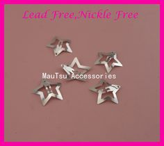 "$9.21 (Buy here: https://alitems.com/g/1e8d114494ebda23ff8b16525dc3e8/?i=5&ulp=https%3A%2F%2Fwww.aliexpress.com%2Fitem%2F50PCS-3-0mm-1-2-Sliver-Finish-Plain-Filigree-Star-Metal-Snap-Clips-at-nickle-free%2F32778999361.html ) 50PCS 3.0cm 1.2"" Sliver Finish Plain Filigree Star Metal Snap Clips at nickle free and lead free,Handmade Hair jewelry girls for just $9.21"
