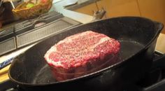 When in need of a delicious steak, different chefs can tell you there are a number of ways of doing it. Cooking the steak in reverse also known as the reverse sear is one of them. This tip will provide a satisfactory answer to any carnivore's taste. FuderHouse is making use of a boneless ribeye …