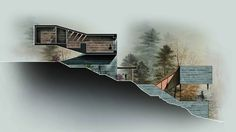 Architecture student, chinese architecture, sections architecture, architec Famous Architecture, Architecture People, Architecture Board, Urban Architecture, Chinese Architecture, Architecture Student, Architecture Drawings, Concept Architecture, Architecture Details