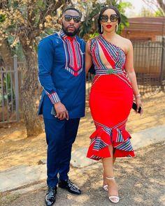 Venda Traditional Attire, African Traditional Wear, African Traditional Wedding Dress, Traditional Outfits, African Wedding Attire, African Attire, African Wear, African Weddings, Couples African Outfits