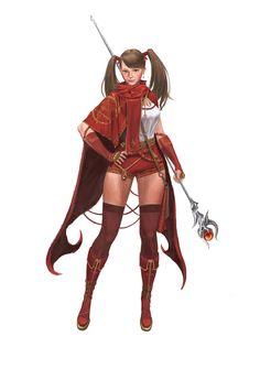 ArtStation - sorceress, rudd / yongbin lee