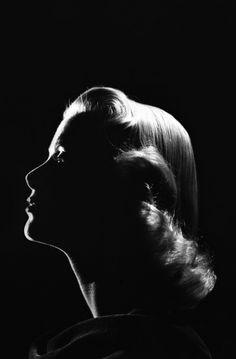 Grace Kelly (in Silhouette)