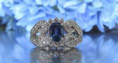 transcendfinejewellery.com BLUE SAPPHIRE AND DIAMOND HEART ENGAGEMENT RING AND OTHER FINE JEWELRY – Transcend Fine Jewellery