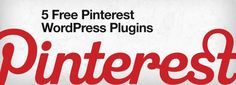 5 FREE PINTERESST WORDPRESS PINTEREST PLUGINS   Here's one - Pretty Pinterest Pins  This plugin allows you to display thumbnails and links to yours (or anyones!) latest Pins from Pinterest in your sidebar. It is styled after #Pinterest and offers a clean and modern look to show off your pins.