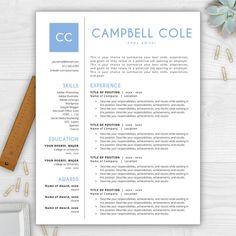Letter Template Word Resume Template  Cv Template  Resume Template Word  Resume Design .