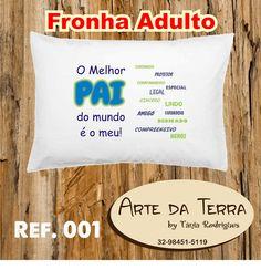 Arte da Terra by Tânia Rodrigues: FRONHA PARA O PAPAI - R$ 24,00
