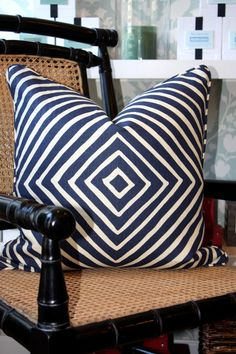 chevron DECORATIVE PILLOW DETAIL