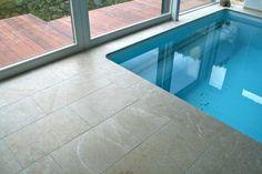 Techno, Tile Floor, Flooring, Outdoor Decor, Home Decor, Travertine, Natural Stones, Swimming, Stairs