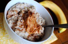 high protein snacks by Green Blender, egg white oatmeal