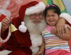 Fotos: Weinende Kinder auf dem Schoß vom Weihnachtsmann - SPIEGEL ONLINE - Panorama