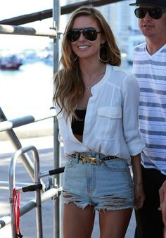Audrina Patridge in Audrina Patridge & Corey Bohan Judge The 2012 Redbull…