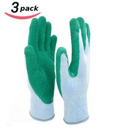 HOMWE Gardening Gloves for Women and Men- Texture Grip -Three Pair Pack - http://amzn.to/1SXI7tE