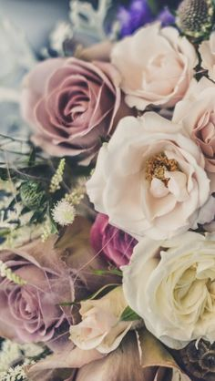 Wallpaper iPhone flowers #vintage⚪️
