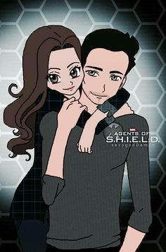 Skye and Ward #skyeward #agentsofshield #AoS tumblr (not my art) More