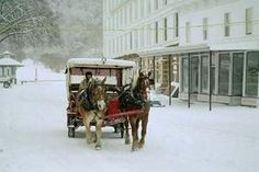 Mackinac Island during winter: A magical calm Winter Christmas, Winter Holidays, Christmas Ideas, Go See, To Go, Mackinaw City, Away We Go, Mackinac Island, Round Trip