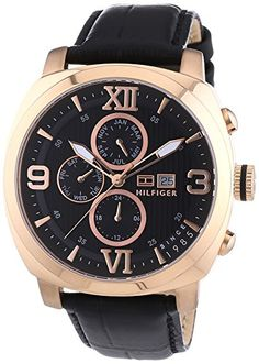 Tommy Hilfiger Fitz 1790969 Men's Watchs Wristwatch Solid Case * For more information, visit image link.