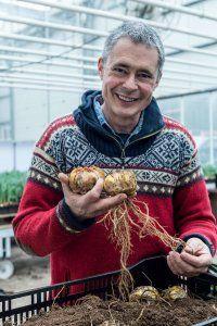 """""""Einmal gepflanzt kommen Lilien jeden Sommer wieder, einige werden sogar von Jahr zu Jahr schöner"""", erklärt Carlos van der Veek, Blumenzwiebelspezialist von Fluwel. Gepflanzt werden sie als Blumenzwiebeln im Winter. Online erhältlich bei www.fluwel.de"""