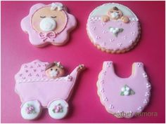 Baby decorated cookies