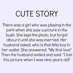 Awww it was true love ❤️