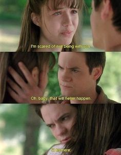 A Walk To Remember, I freaking love this movie! He is the perfect guy! Read the book too, its just as good A Walk To Remember Quotes, Remember Movie, Romantic Movie Quotes, Favorite Movie Quotes, Forrest Gump, Quentin Tarantino, Good Movies, Movies To Watch, Nicholas Sparks Movies
