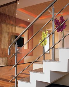Balustrade Systems MABL 070-  Give in to the temptation of designs as stylish, as classy as the MABL 070 Top Mounting Steel Balustrade. Ensuring you attract nothing but praises for this product. Used in vast measures at various high profile projects across the expanse of the area.  -Easy to maintain -Inspired by international style standards Steel Balustrade, Rust Free, International Style, The Expanse, Stairs, Classy, Profile, Inspired, Stylish