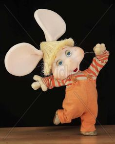 Topo Gigio, who appeared a lot on the old Ed Sullivan show