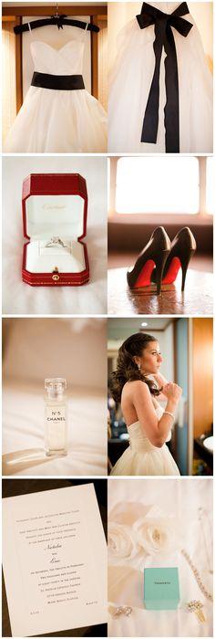 black sash wedding dress perfection
