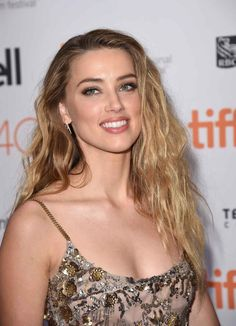 Amber Heard at the 2015 Toronto premiere of 'The Danish Girl'.