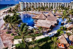 The wedding venue:  Dreams Riviera Cancun