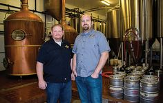 Wes Alexander and Eric Marshall, Marshall Brewing Co.