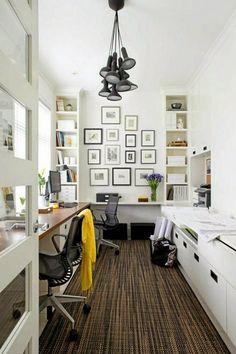 Design Ideas For Your Home Office For more inspiring images, click here: http://www.delightfull.eu/en/