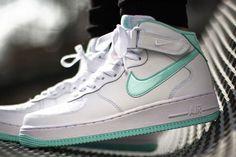 official photos 56107 dd54a Air Force 1 Mid Wmns (Artisan Teal) - Sneaker Freaker