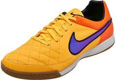Nike Tiempo Legacy IC Indoor Shoes - Orange Futsal Court d1cb69cd1c