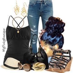 #364 by gorgeousmama29 on Polyvore featuring polyvore fashion style maurices Yves Saint Laurent Steve Madden Michael Kors Celeste GUESS Wet Seal Roberto Cavalli