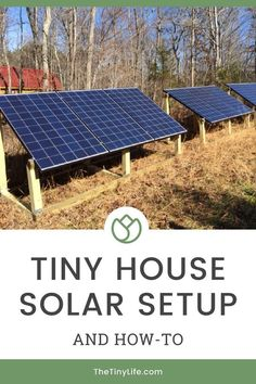 Here are ALL the details of my tiny house solar power setup. Here's what it's really like to set up your tiny house electrical to run off solar power including solar panel placement, electrical…More Solar Energy Panels, Solar Panels For Home, Best Solar Panels, Solar Power For Home, Off Grid Solar Power, Cost Of Solar Panels, Landscape Arquitecture, Solar Projects, Diy Projects