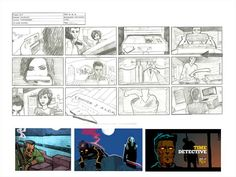 Time Detective Storyboard