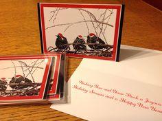 Win a set of six Darling Starling Christmas Cards. detail are on my blog http://jillraefinallyart.blogspot.com/2014/12/darling-starlings-christmas-card.html